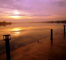 Sunrise on the Dock by atoth