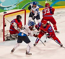 Vancouver 2010: Women's Hockey Action  by David Friederich
