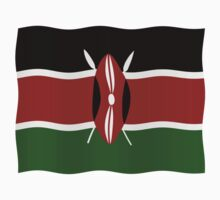 Kenya flag One Piece - Long Sleeve