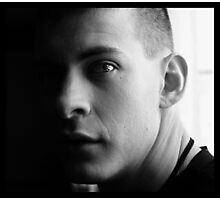 Justin.  Photographic Print