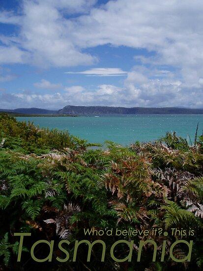 Who'd believe it? This is Tasmania by emilykperkin