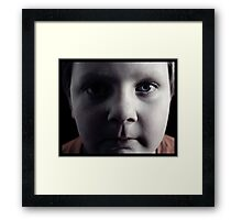 Chris. Framed Print