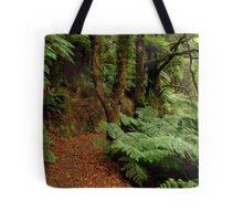 Lush Fern Walk,Otway Ranges Tote Bag