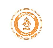 World Cup Football - Team Netherlands (distressed) Photographic Print