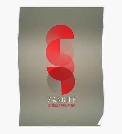 Street Fighter - Zangief Poster