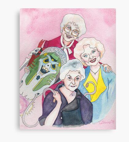 Golden Girls Transform Canvas Print