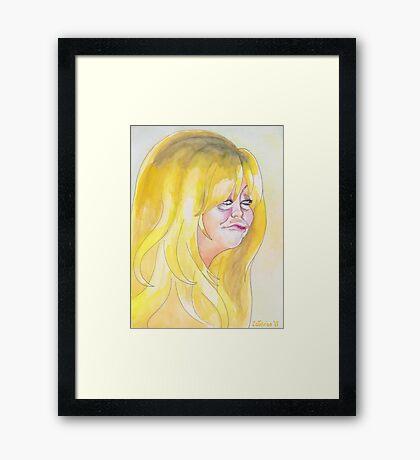 Goldie is My Sunshine Framed Print