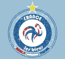 World Cup Football 7/8 - Team France (distressed) Kids Clothes