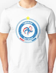 World Cup Football 7/8 - Team France (distressed) T-Shirt