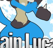 I Main Lucario - Super Smash Bros. Sticker