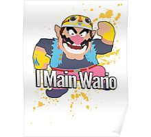 I Main Wario - Super Smash Bros. Poster