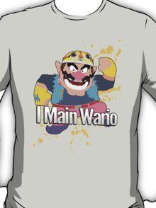 I Main Wario - Super Smash Bros. T-Shirt