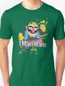 I Main Wario - Super Smash Bros. T-Shirt