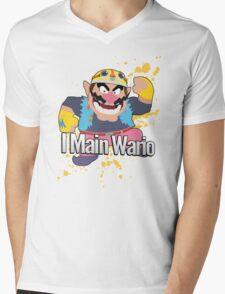 I Main Wario - Super Smash Bros. Mens V-Neck T-Shirt