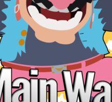 I Main Wario - Super Smash Bros. Sticker