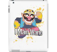 I Main Wario - Super Smash Bros. iPad Case/Skin