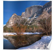 Half Dome Reflections Poster