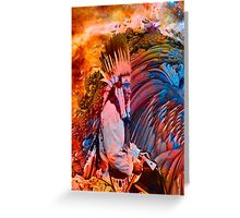 Astral Dreamtime Greeting Card