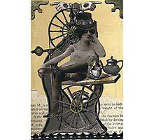Steampunk Machinist - Sobriquette Pinion Photographic Print