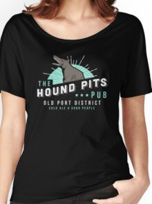 Dishonored - The Hound Pits Pub Women's Relaxed Fit T-Shirt