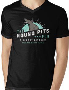 Dishonored - The Hound Pits Pub Mens V-Neck T-Shirt