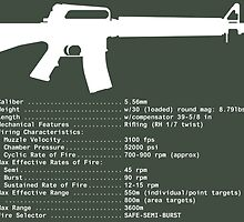 M16A2 White by colinking