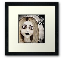 Dear little doll series... TIFFANY Framed Print