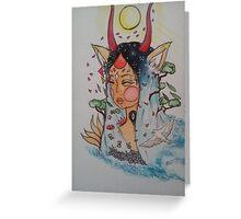 Kaze Hime Greeting Card