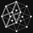 Hypercube dark by Kip Stewart