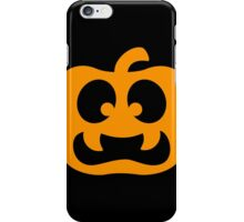 Scary Jack-O-Lantern iPhone Case/Skin