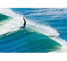 Surfer Wipeout Photographic Print