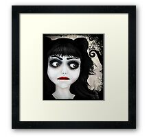 Dear little doll series... EUGENIA Framed Print