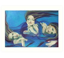 """Fragments of longing - from """"Whispers"""" series Art Print"""