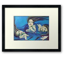 "Fragments of longing - from ""Whispers"" series Framed Print"