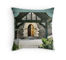 Holy Trinity Anglican Church -always open Throw Pillow