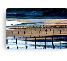 The Shore at Sandsend Canvas Print