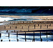 The Shore at Sandsend Photographic Print