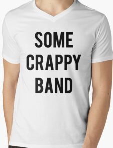 Some Crappy Band Funny Concert Music Mens V-Neck T-Shirt