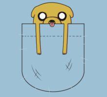 Adventure Time Jake Pocket by BeckyBunny