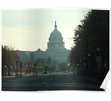 Capital Morning - Washington Poster
