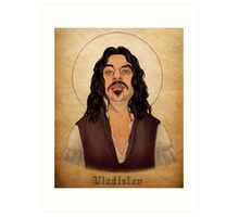 Vladislav - What We Do In The Shadows Art Print