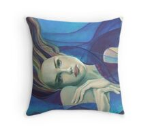 "Fragments of longing - from ""Whispers"" series  Throw Pillow"
