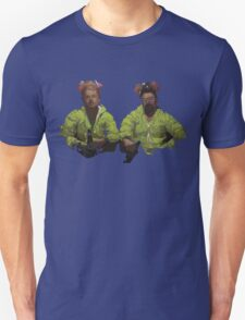 Geometric Heisenberg & Jesse Pinkman.. Breaking Bad T-Shirt