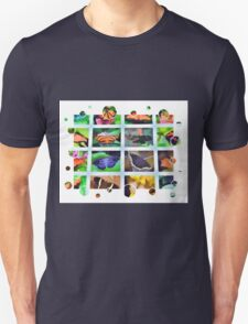 Butterfly Squares Unisex T-Shirt