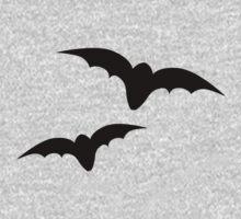 Two black bats Kids Tee