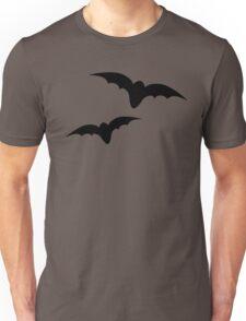 Two black bats Unisex T-Shirt
