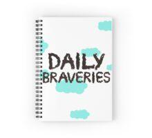 Daily Braveries Spiral Notebook