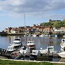 Whitby Harbour view, North Yorkshire by BronReid