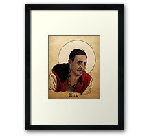 Nick, the Newest Vampire - What We Do In The Shadows Framed Print