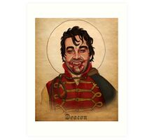 Deacon the Vampire - What We Do In The Shadows Art Print